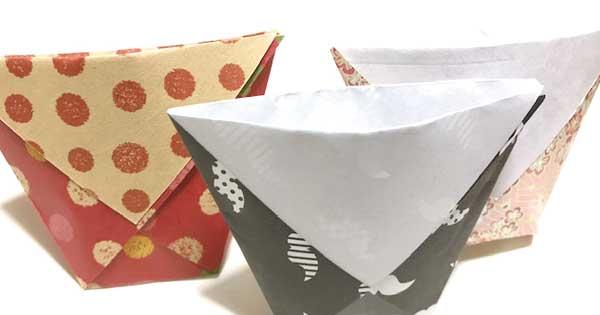 折り紙コップ
