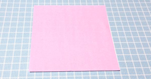 折り紙風船の折り方01