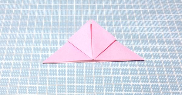 折り紙風船の折り方06