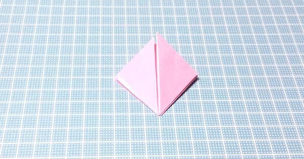 折り紙風船の折り方08