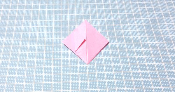 折り紙風船の折り方09