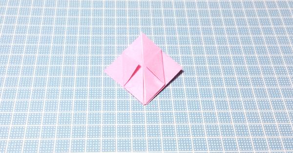 折り紙風船の折り方10