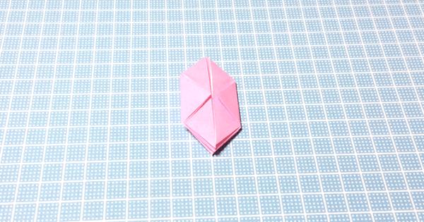 折り紙風船の折り方11