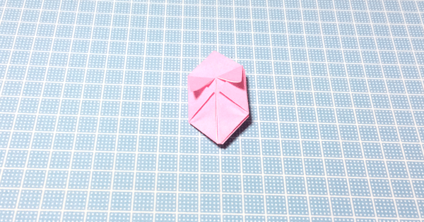 折り紙風船の折り方12