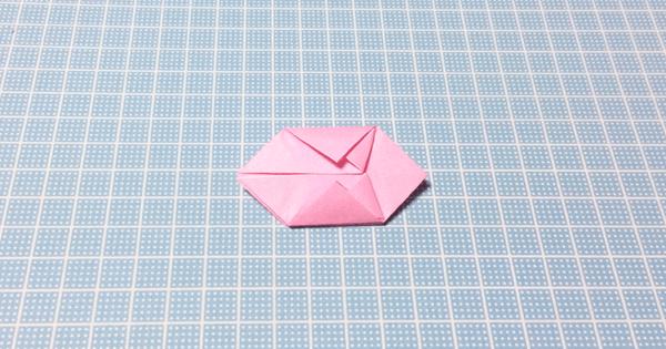 折り紙風船の折り方15