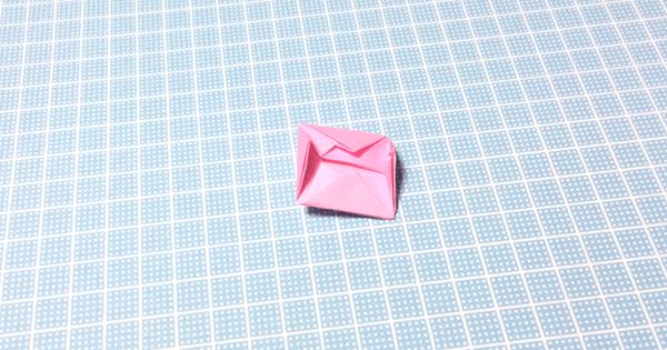 折り紙風船の折り方16