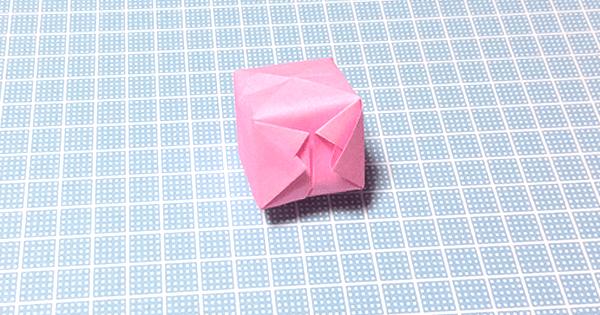 折り紙風船の折り方18