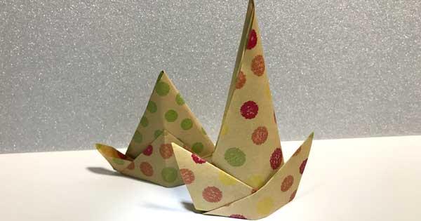 折り紙帽子