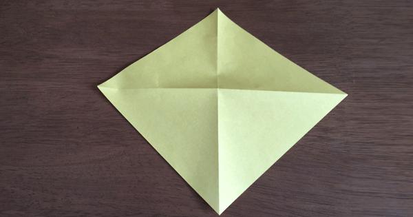 折り紙兜の折り方01