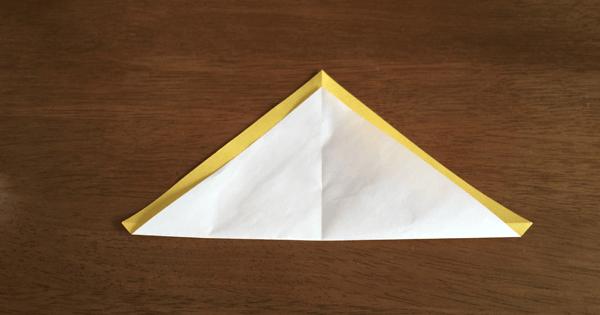 折り紙兜の折り方02