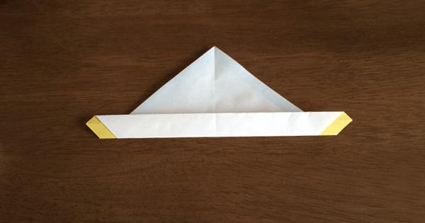 折り紙兜の折り方04