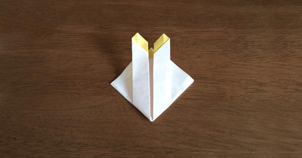 折り紙兜の折り方05