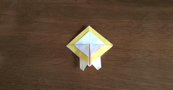 折り紙兜の折り方06