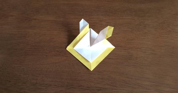 折り紙兜の折り方07