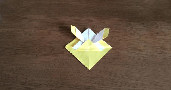折り紙兜の折り方09