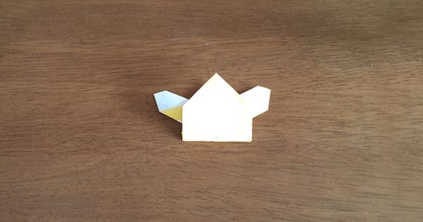 折り紙兜の折り方11