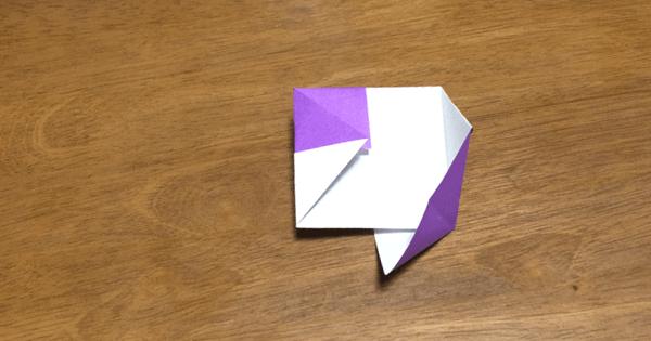 風車の折り方10