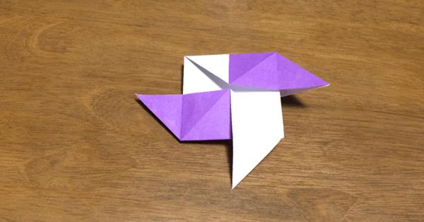 風車の折り方11