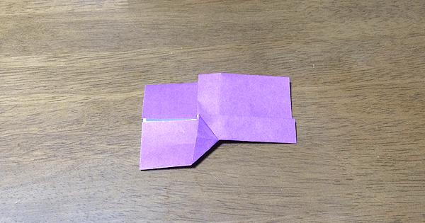 折り紙こけしの折り方09