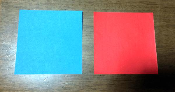 折り紙駒の折り方01