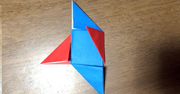 折り紙駒の折り方06