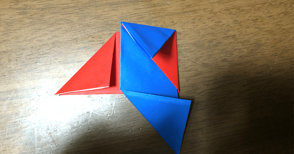 折り紙駒の折り方07