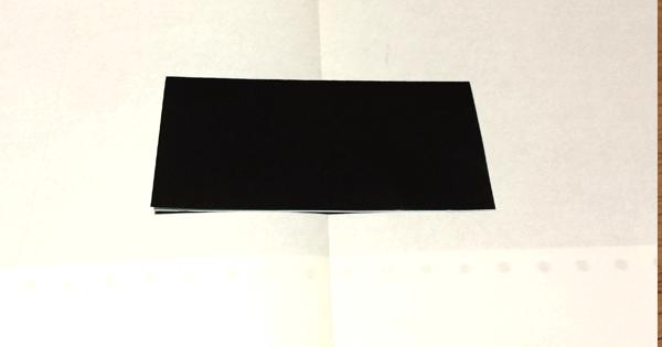 折り紙ピアノの折り方01