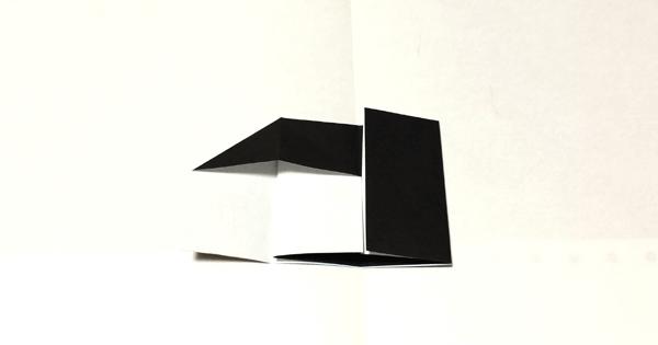 折り紙ピアノの折り方04