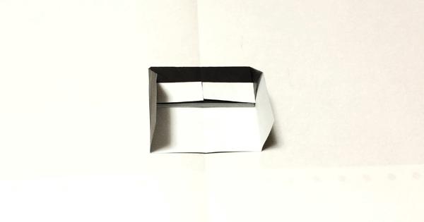 折り紙ピアノの折り方07