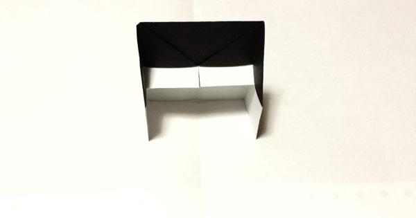 折り紙ピアノの折り方08