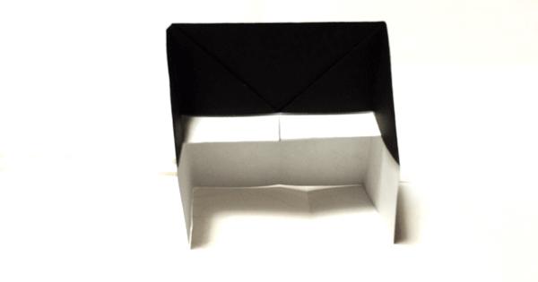 折り紙ピアノの折り方09