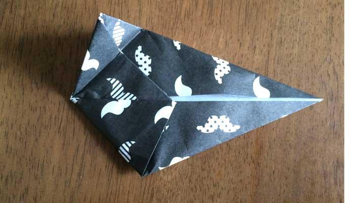 むっくりさんかく折り紙の折りかた03