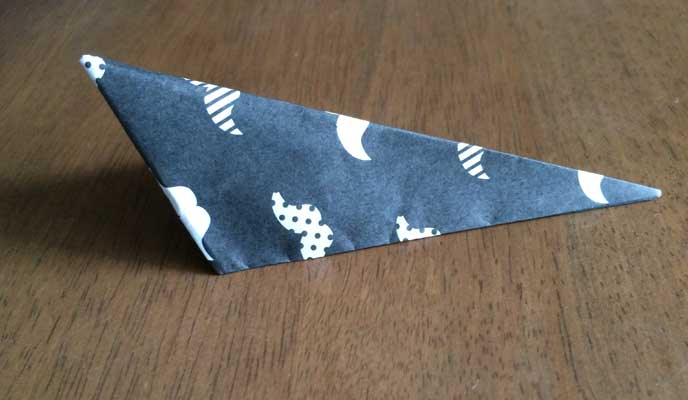 むっくりさんかく折り紙の折りかた07