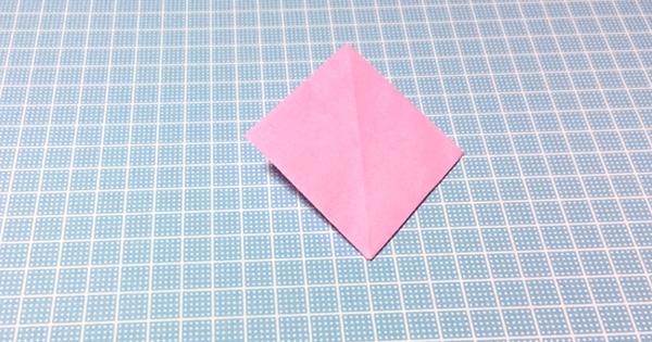 折り紙お相撲さんの折り方