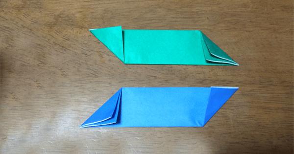 折り紙手裏剣の折り方07