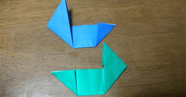 折り紙手裏剣の折り方08