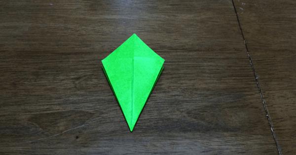 折り紙鶴の折りかた08