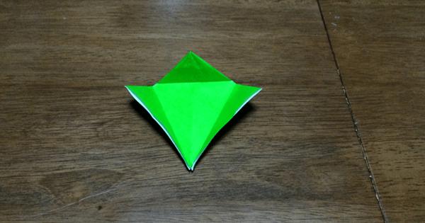 折り紙鶴の折りかた09