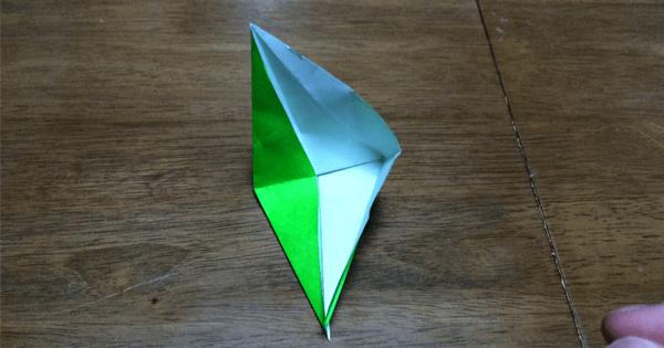 折り紙鶴の折りかた12