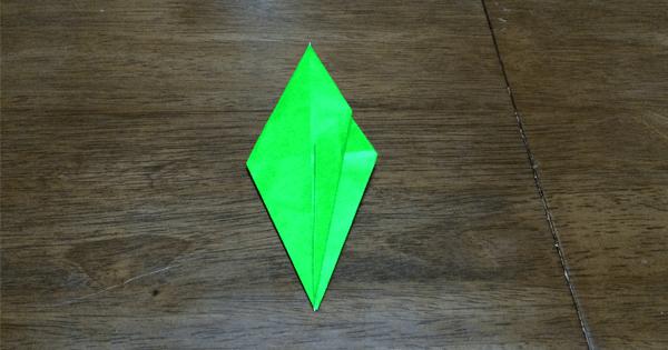 折り紙鶴の折りかた14