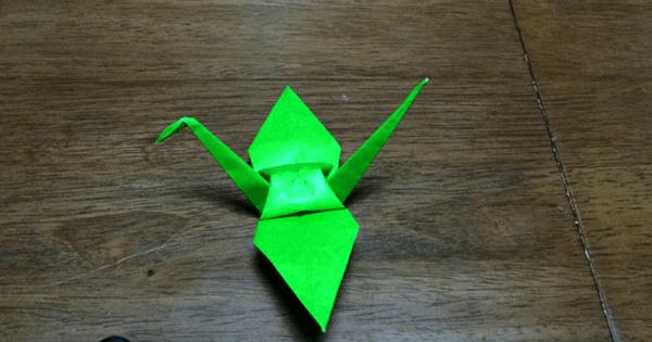 折り紙鶴の折りかた23