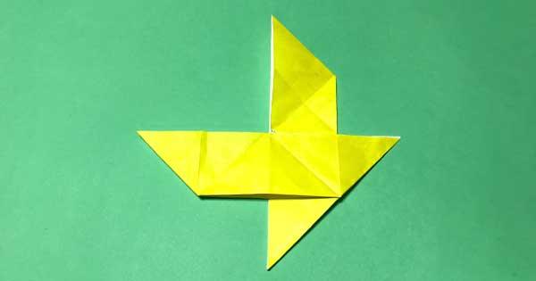 だましふねの折り紙
