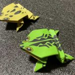 カエルの折り紙!簡単・かわいい・飛ぶ・立体まで写真で紹介