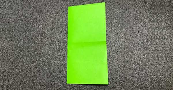 ピョンピョンカエルの折り方2