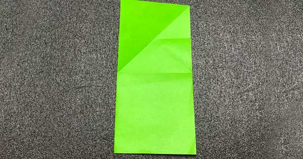 ピョンピョンカエルの折り方4