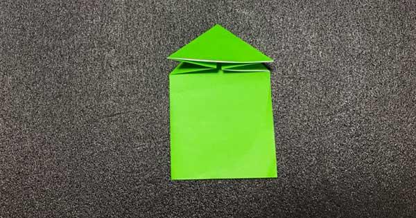 ピョンピョンカエルの折り方5