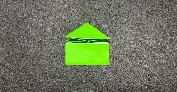 ピョンピョンカエルの折り方6
