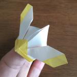 兜の折り紙を折って遊ぼう