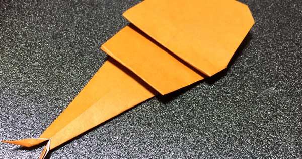 カブトムシの折り紙の折り方