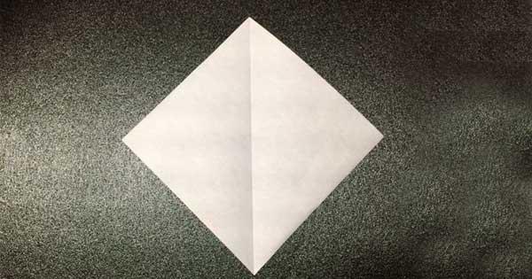 カブトムシの折り方1